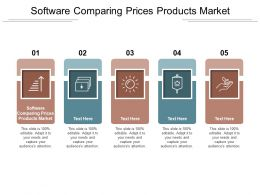 Software Comparing Prices Products Market Ppt Powerpoint Presentation Inspiration Background Image Cpb