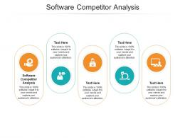 Software Competitor Analysis Ppt Powerpoint Presentation Ideas Images Cpb