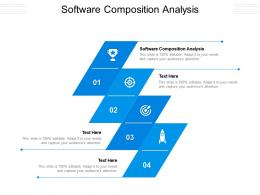 Software Composition Analysis Ppt Powerpoint Presentation Information Cpb