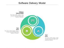 Software Delivery Model Ppt Powerpoint Presentation Outline Example Topics Cpb