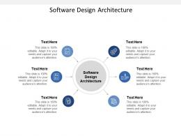 Software Design Architecture Ppt Powerpoint Presentation Outline Clipart Cpb