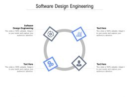 Software Design Engineering Ppt Powerpoint Presentation Outline Maker Cpb