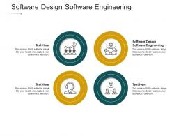Software Design Software Engineering Ppt Powerpoint Presentation Icon Infographics Cpb