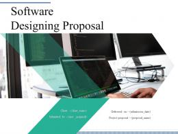 Software Designing Proposal Powerpoint Presentation Slides