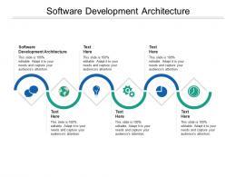 Software Development Architecture Ppt Powerpoint Presentation Inspiration Demonstration Cpb