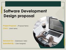 Software Development Design Proposal Powerpoint Presentation Slides