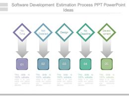 Software Development Estimation Process Ppt Powerpoint Ideas