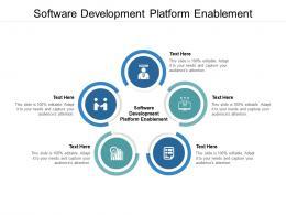Software Development Platform Enablement Ppt Powerpoint Presentation Gallery Demonstration Cpb