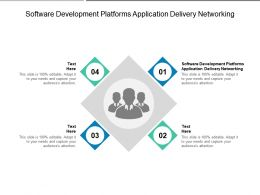 Software Development Platforms Application Delivery Networking Ppt Professional Summary Cpb