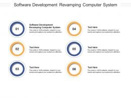 Software Development Revamping Computer System Ppt Powerpoint Presentation Portfolio Cpb