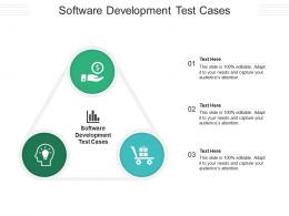 Software Development Test Cases Ppt Powerpoint Presentation Icon Sample Cpb