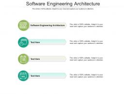 Software Engineering Architecture Ppt Powerpoint Presentation Styles Examples Cpb