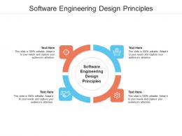 Software Engineering Design Principles Ppt Powerpoint Presentation Infographic Template File Formats Cpb