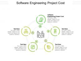 Software Engineering Project Cost Ppt Powerpoint Presentation Inspiration Design Cpb