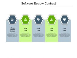Software Escrow Contract Ppt Powerpoint Presentation Layouts Introduction Cpb
