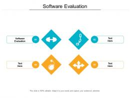 Software Evaluation Ppt Powerpoint Presentation Infographic Template Slideshow Cpb