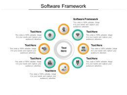 Software Framework Ppt Powerpoint Presentation Portfolio Rules Cpb