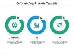 Software Gap Analysis Template Ppt Powerpoint Presentation Ideas Graphics Design Cpb