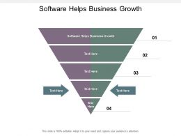 Software Helps Business Growth Ppt Powerpoint Presentation Layouts Styles Cpb