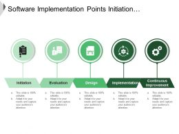 Software Implementation Points Initiation Evaluation And Implementation