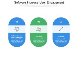 Software Increase User Engagement Ppt Powerpoint Presentation Inspiration Format Cpb