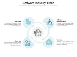 Software Industry Trend Ppt Powerpoint Presentation Slides Graphics Cpb