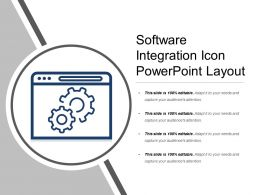 Software Integration Icon Powerpoint Layout