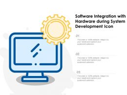 Software Integration With Hardware During System Development Icon