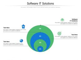 Software It Solutions Ppt Powerpoint Presentation Ideas Background Image Cpb