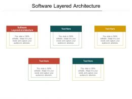 Software Layered Architecture Ppt Powerpoint Presentation Visual Aids Gallery Cpb