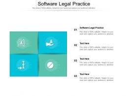 Software Legal Practice Ppt Powerpoint Presentation Gallery Slide Portrait Cpb