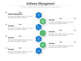 Software Management Ppt Powerpoint Presentation Icon Ideas Cpb