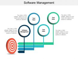 Software Management Ppt Powerpoint Presentation Styles Background Cpb