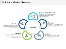 Software Market Research Ppt Powerpoint Presentation Infographic Template Grid Cpb