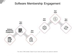 Software Membership Engagement Ppt Powerpoint Presentation Inspiration Elements Cpb