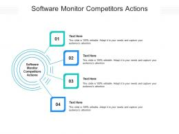 Software Monitor Competitors Actions Ppt Powerpoint Presentation Gallery Graphics Tutorials Cpb