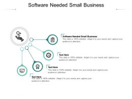 Software Needed Small Business Ppt Powerpoint Presentation Slides Templates Cpb