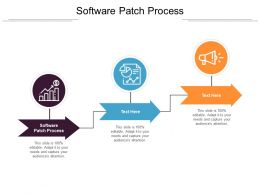 Software Patch Process Ppt Powerpoint Presentation Infographics Maker Cpb