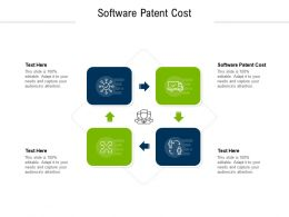 Software Patent Cost Ppt Powerpoint Presentation Summary Structure Cpb