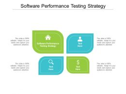 Software Performance Testing Strategy Ppt Powerpoint Presentation Introduction Cpb