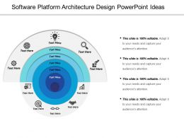 Software Platform Architecture Design Powerpoint Ideas