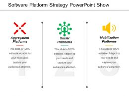 Software Platform Strategy Powerpoint Show