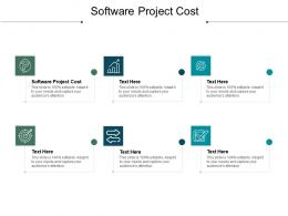 Software Project Cost Ppt Powerpoint Presentation File Graphics Tutorials Cpb