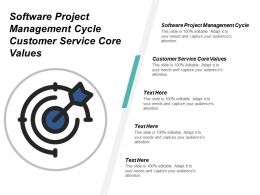 Software Project Management Cycle Customer Service Core Values Cpb