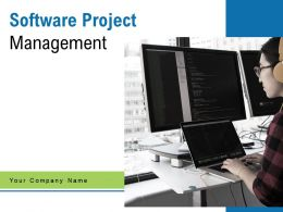 Software Project Management Functions Icon Importance Structure Process