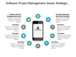Software Project Management Issues Strategic Planning Business Planning Cpb