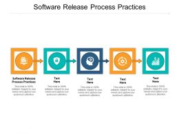 Software Release Process Practices Ppt Powerpoint Presentation Layouts Portrait Cpb