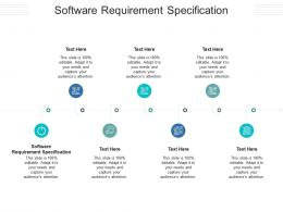 Software Requirement Specification Ppt PowerPoint Presentation Icon Brochure Cpb
