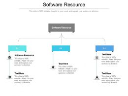 Software Resource Ppt Powerpoint Presentation Show Demonstration Cpb