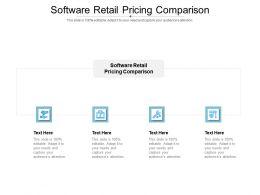 Software Retail Pricing Comparison Ppt Powerpoint Presentation Show Portrait Cpb